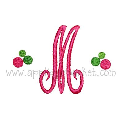 Dots Mini Monogram