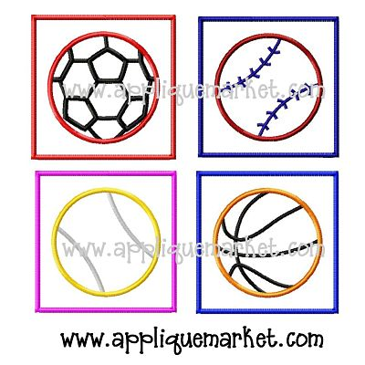 Sports Patch Set