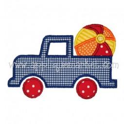 Truck Beach Ball