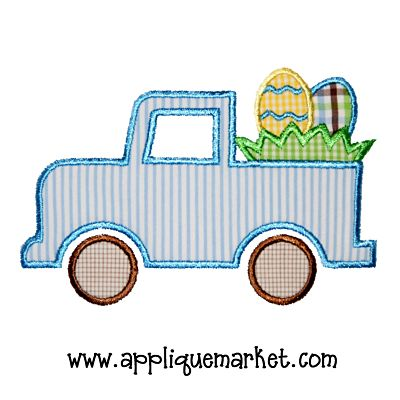 Truck Easter Egg Basket