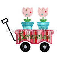 Wagon Flowers