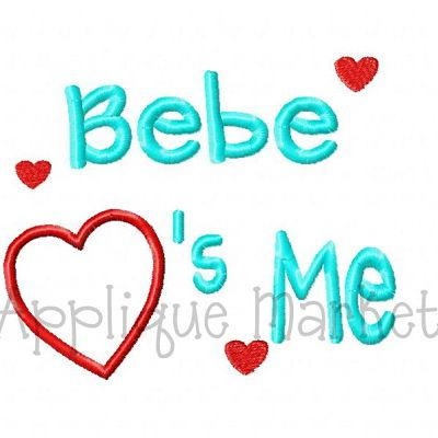 Bebe Hearts Me