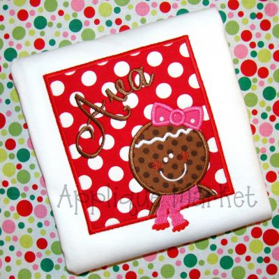 Gingerbread Girl Box