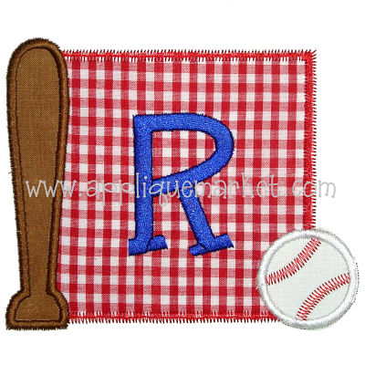 Baseball Initial Patch