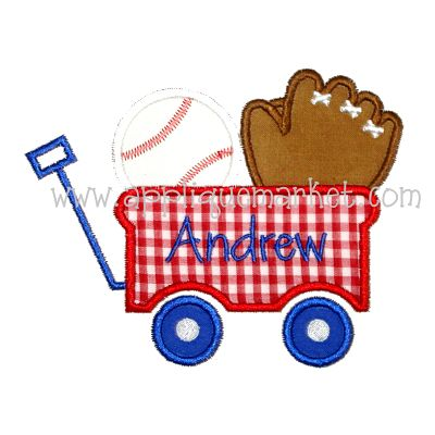 Baseball Wagon