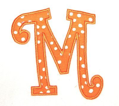 Curlz Applique Alphabet