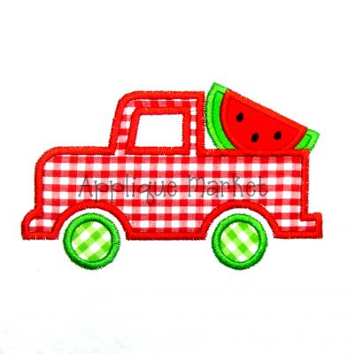 Truck Watermelon Slice