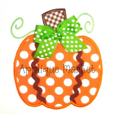 Pumpkin Three Ric Rac
