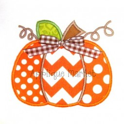 Pumpkin Three Fabrics