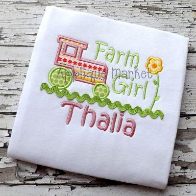 Tractor Farm Girl