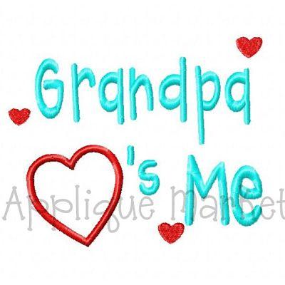 Grandpa Hearts Me