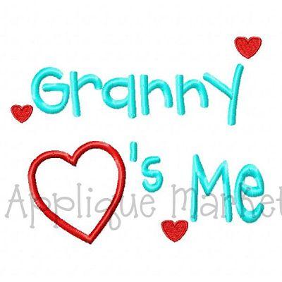 Granny Hearts Me