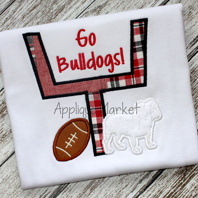 Football Goal Bulldog