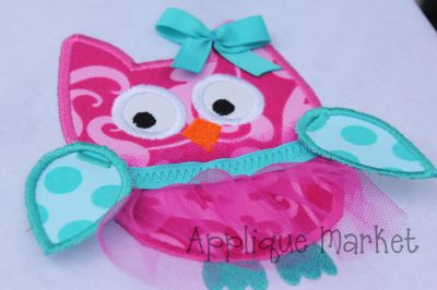Owl with Tulle TuTu