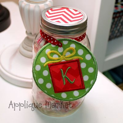 In The Hoop Gift Tag