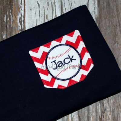 In-the-Hoop Pocket with Baseball