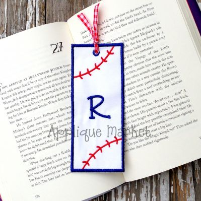 Baseball 2 Bookmark