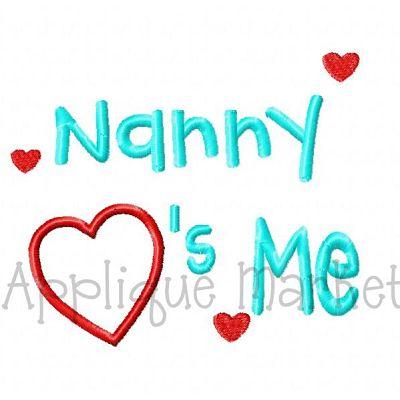 Nanny Hearts Me