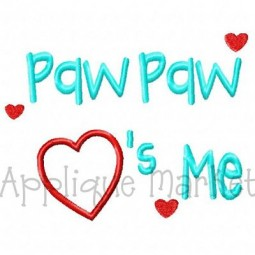 Paw Paw Hearts Me