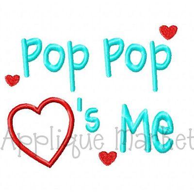Pop Pop Hearts Me