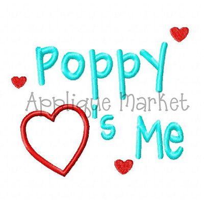 Poppy Hearts Me