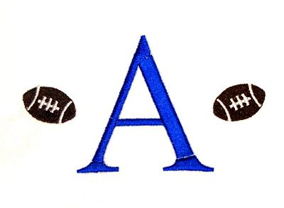 Football Mini Monogram