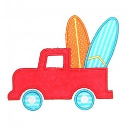 Truck with Surf Boards