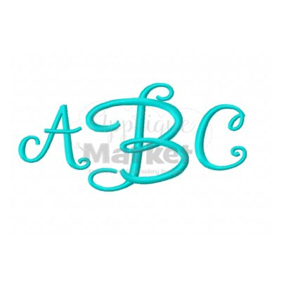 janda stylist monogram alphabet