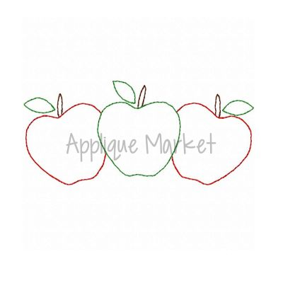 Apple Trio Vintage