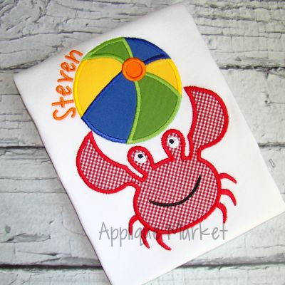 Crab Beach Ball