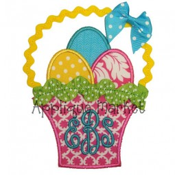 Easter Basket with Trim