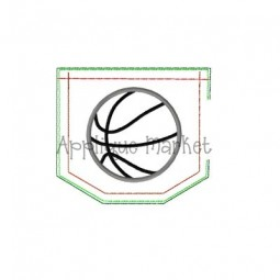 In-the-Hoop Pocket with Basketball