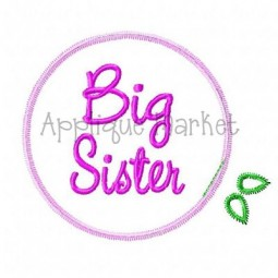 Big Sister Tulle Flower