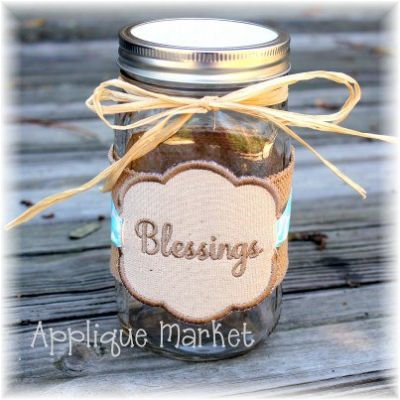 Blessings Label