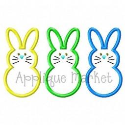 Bunny Trio Front