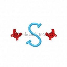 Crab Mini Monogram