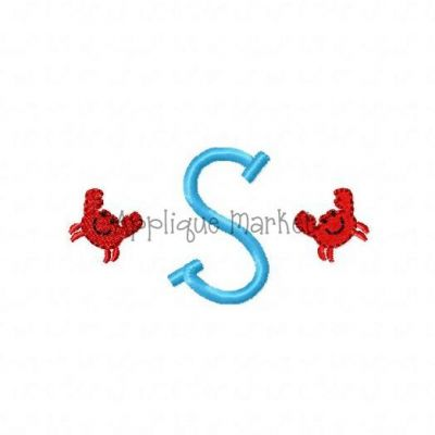 Crab Mini Monogram