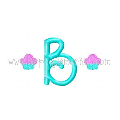 Cupcake Mini Monogram