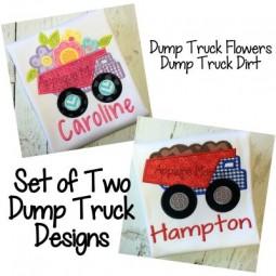 Dump Trucks Boy & Girl Set