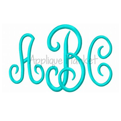 Embroidery Fonts – Applique Market