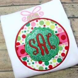 Ornament Circle Patch