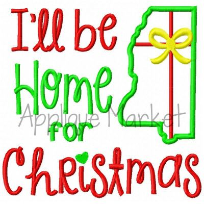 Home for Christmas Mississippi