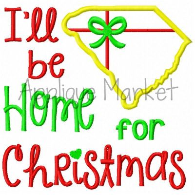Home for Christmas South Carolina