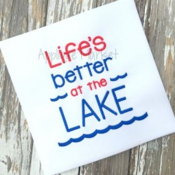 Life's Better at the Lake