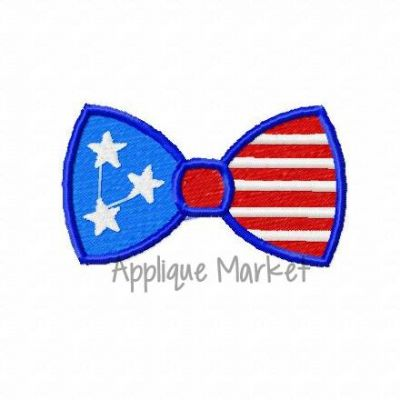 Mini Bow Tie Flag