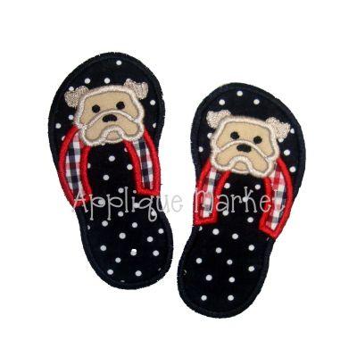 Flip Flops Bulldog