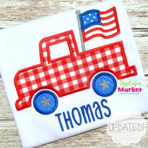 flag truck