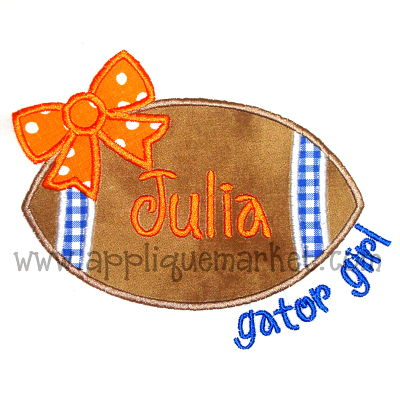 Football Bow Gators