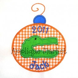 Gator Ornament