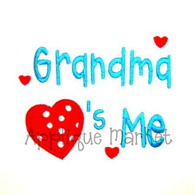 Grandma Hearts Me